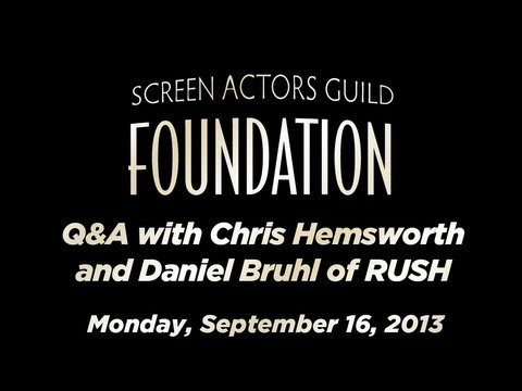 Conversations with Chris Hemsworth and Daniel Bruhl of RUSH
