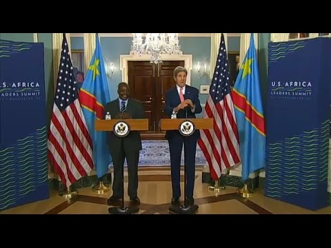Secretary Kerry Delivers Remarks With Democratic Republic of the Congo President Kabila