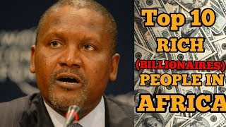 Gambar cover Top 10 Richest People In Africa 2018