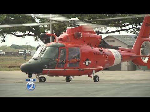 Search continues for helicopter off Molokai