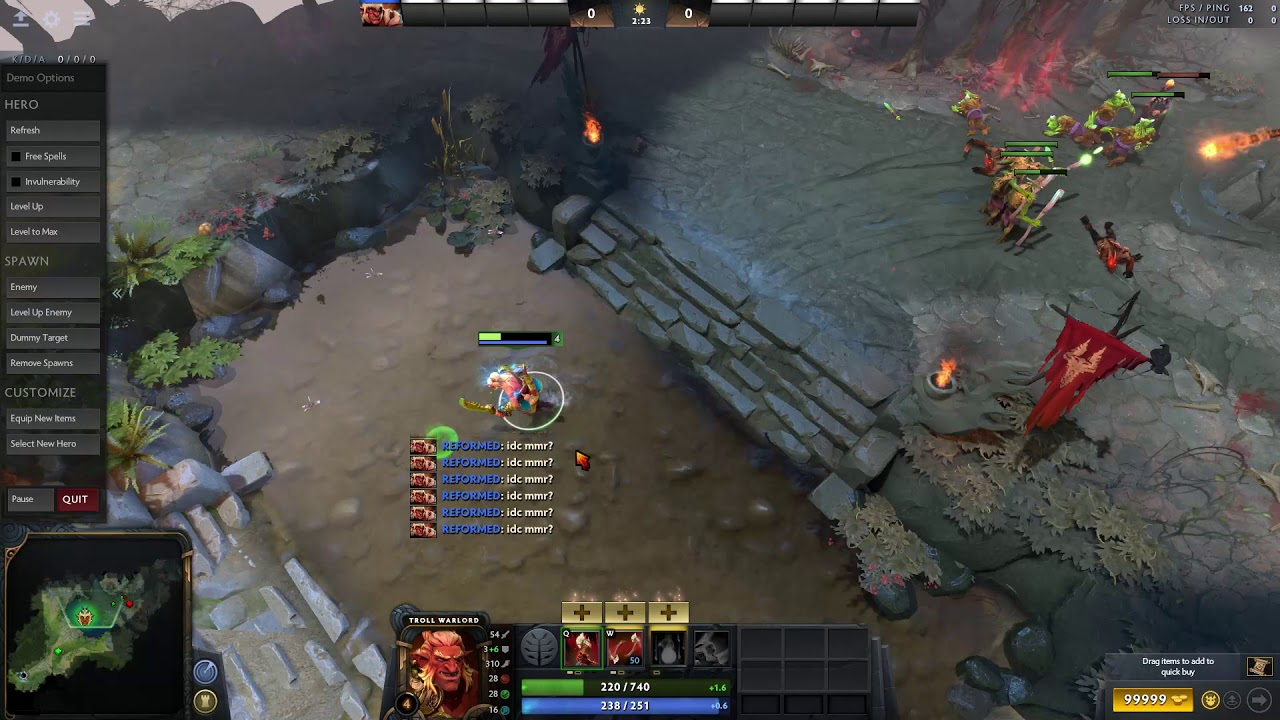 How to All Chat Spam in Dota 2