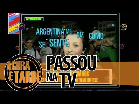 Passou na TV - Agora é Tarde - 1507