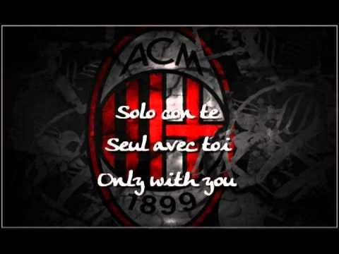 Anthems Milan AC LYRICS