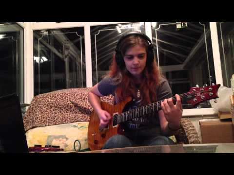Amy Lewis - Apparition - Betrayed Guitar Cover