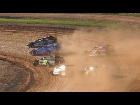UEMS E-Mod Heat Two | McKean County Raceway | Fall Classic | 10-15-16