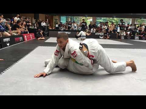 Shem Rock vs Shannon Tay BJJ Blue Belt 70kgs
