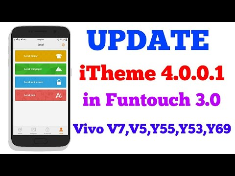 2018 iTheme 4 0 0 1 Update for VIVO smartphone 😧