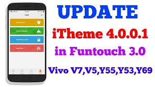 2018 iTheme 4 0 0 1 Update for VIVO smartphone by Tech-Nick