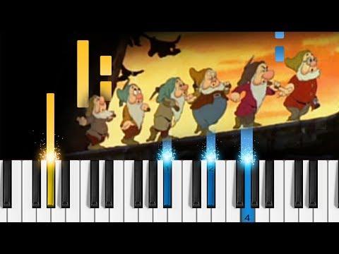 Heigh-Ho (Disney's Snow White) - Piano Tutorial