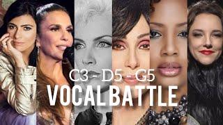 Vocal Battle: Contraltos (C3 - G5)