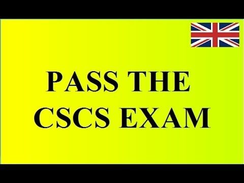 Cscs Exam The Health Safety Environment Test For Operatives