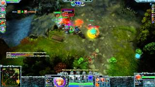 Heroes of Newerth - Kraken Gameplay