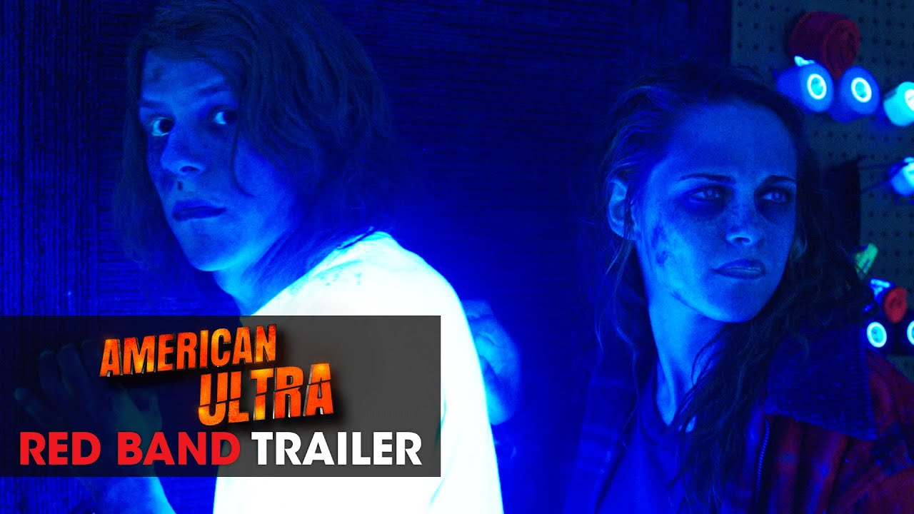 Download American Ultra (2015 Movie - Kristen Stewart, Jesse Eisenberg) - Official Red Band Trailer