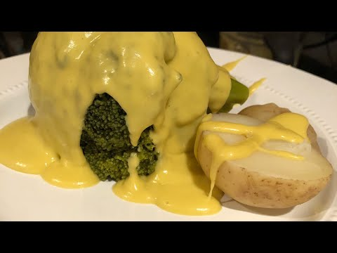 Vegan cheesy broccoli