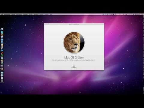 In Deutsch, Clean Install Mac OS X Lion 10.7 Bootmedium erstellen