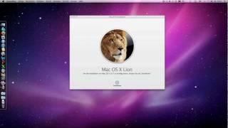 In Deutsch, Clean Install Mac OS X Lion 10.7 Bootmedium erstellen
