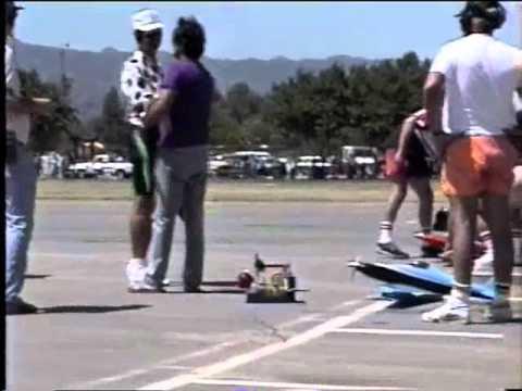 RC Formula 1 Race 1990, Sepulveda Basin California