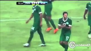 اهداف مباراة السعوديه و استراليا 3-2 تعليق خليل البلوشي تصفيات مونديال 2018