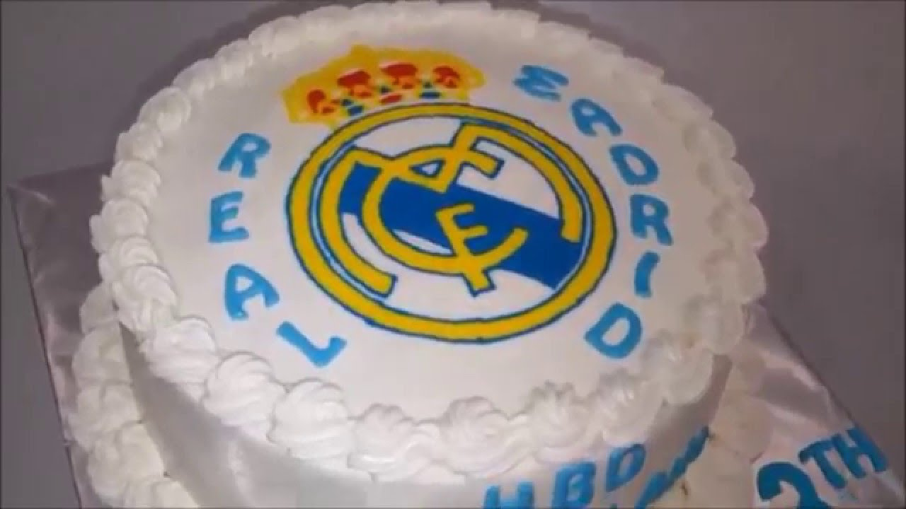 Real madrid cake ideas simple youtube - Real madrid decorations ...