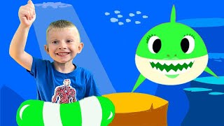 Baby Shark Song For Kids Mainan dan lagu anak-anak