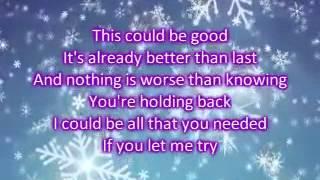 Katharine Mcphee ft.Zachary Levi - Terrified Lyrics