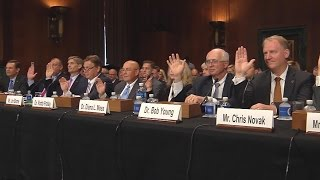 Big Six Summoned to Capital Hill