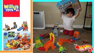 VTech Go! Go! Smart Wheels Press & Race Monster Truck Rally Review - Toy Cars - Willy