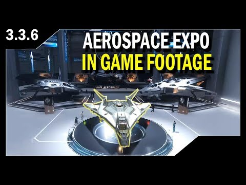 Star Citizen: Live In Game Tour of the AEROSPACE EXPO
