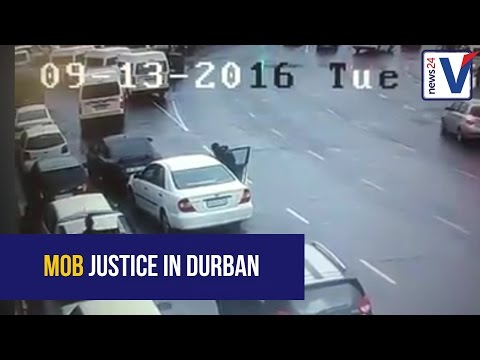 Hijacking in central Durban on Tuesday has gone viral on Facebook