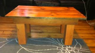 Reclaimed Wood Coffee Table That Adds A Touch A Rustic Feel To Your Home