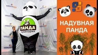 Надувная фигура Панда машет рукой