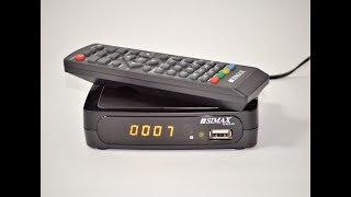Тюнер Т2 Simax RED HD для дому та дачі - відеоогляд та налаштування додатків