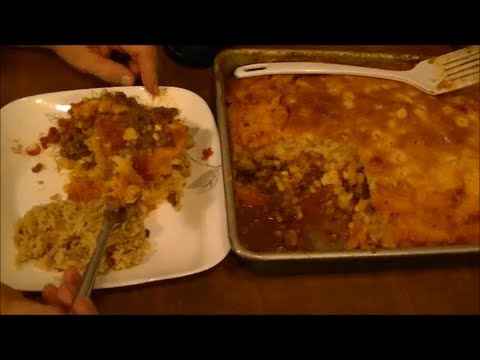 My Recipe for Mexican Shepherd's Pie...Sweet and Savory and Oh So Good!!!