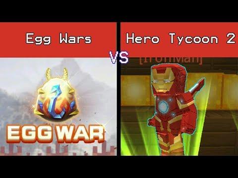 Blockman Go : Hero Tycoon 2 vs Egg Wars | Part 1 [BatlleGameplayZ]