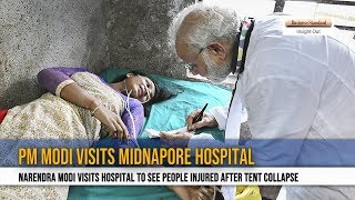 90 people injured after tent collapses at PM Narendra Modi rally