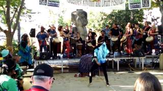 Scenes From the Greenbelt Rhythm and Drum Festival, Greenbelt, Maryland, October 10, 2015