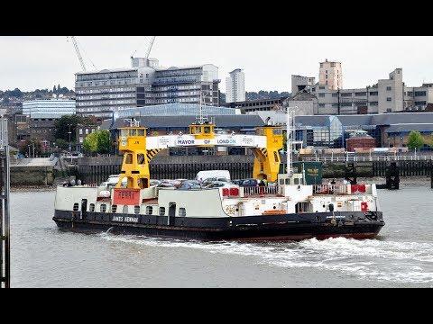 Woolwich ferry LONDON