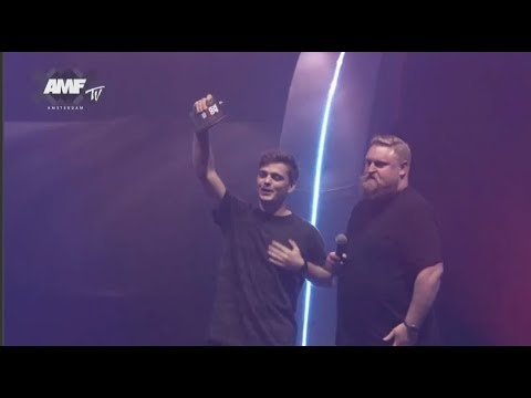 Martin Garrix winning DJ Award For the third time Mp3