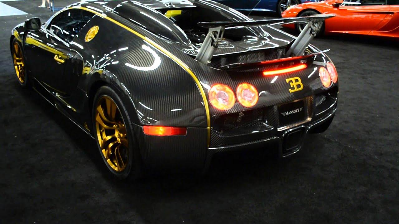 bugatti veyron mansory vincero start up youtube. Black Bedroom Furniture Sets. Home Design Ideas
