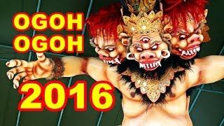 Kumpulan Video Ogoh Ogoh Tahun 2016 HD