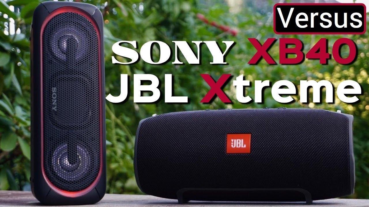 JBL Xtreme Vs Sony XB40 — GYMCADDY
