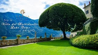 Villa del Balbianello, Lake Como film in 4K UHD