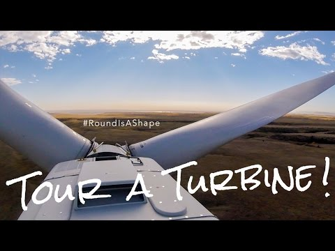 Tour A (Wind) Turbine - #RoundIsAShape  (U.S. Department of Energy) GoPro
