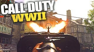MY FIRST CALL OF DUTY: WWII GAMEPLAY - CoD WW2 E3 2017 Multiplayer