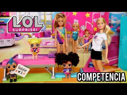 Primera Competencia de Gimnasia de las Muñecas LOL y Barbies