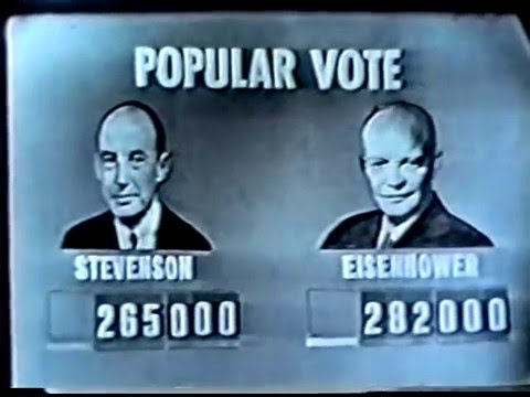 CBS News Election Coverage: November 4, 1952
