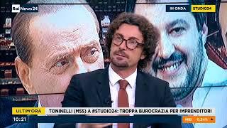 Danilo Toninelli (M5S) a RaiNews24 11/1/2018