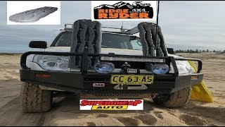 Super Cheap Auto Ridge Ryder Recovery Tracks - Sand Test