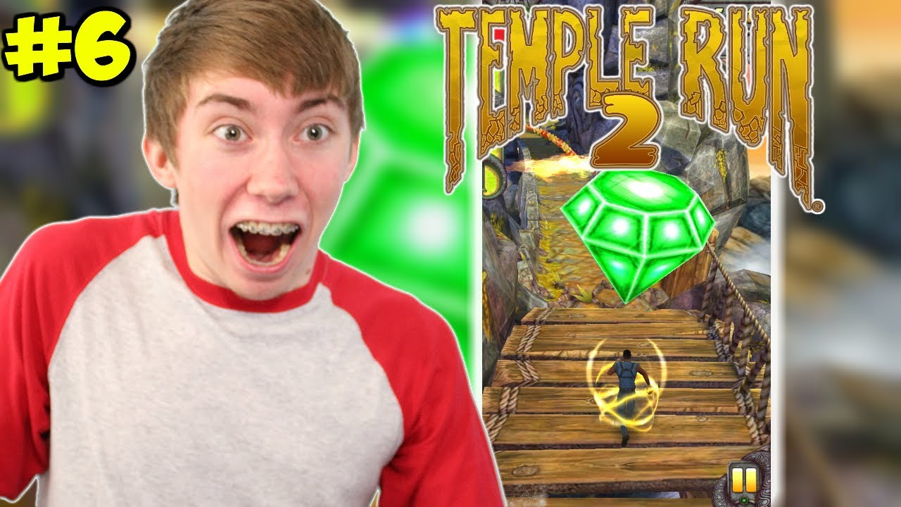 how to run without powerups in temple run 2