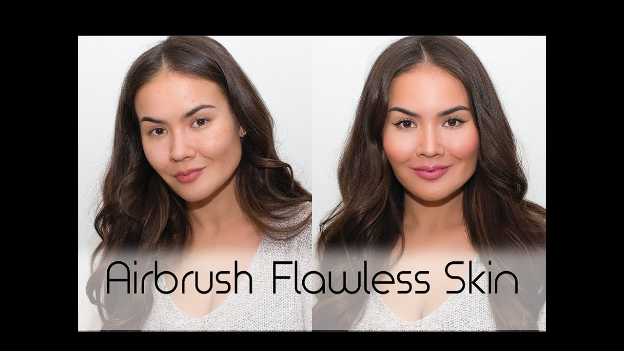 Airbrush makeup tutorial flawless skin how to youtube baditri Choice Image